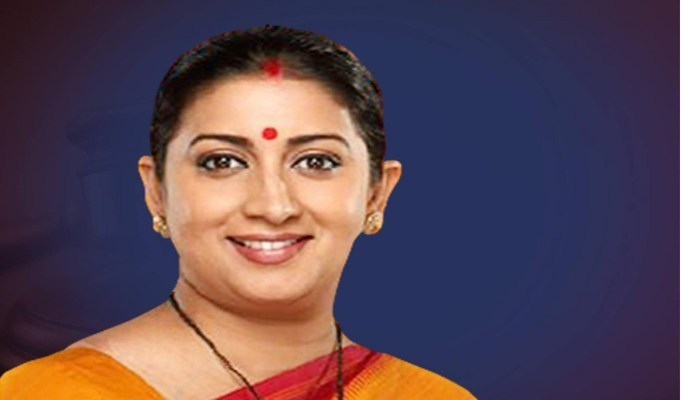Government's Rs 6,000 cr package to boost apparel sector: Smriti Irani