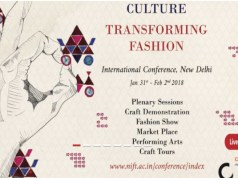 NIFT to host an International Conference 'Rediscovering Culture: Transforming Fashion'