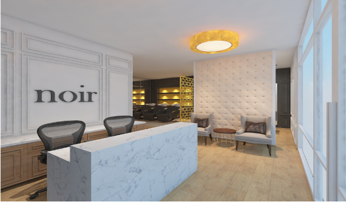 NOIR - The luxury hair salon opens up at The Chanakya in New Delhi
