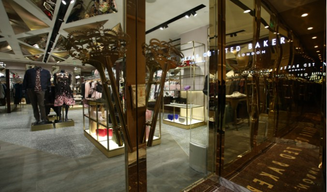 77926d9ce6e919 Ted Baker launches its first store in partnership with Aditya Birla ...