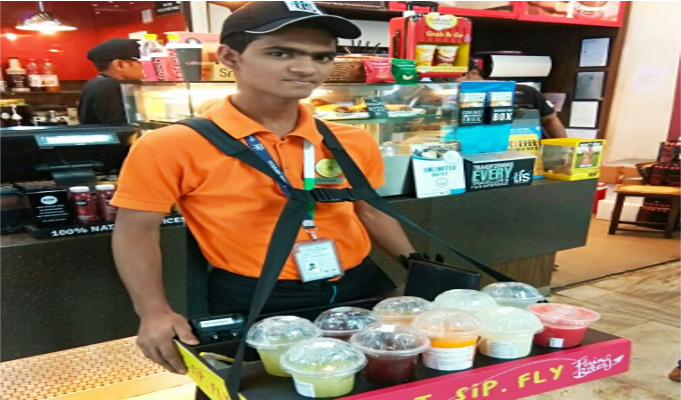 Travel Food Services' introduces vending men at Mumbai Airport