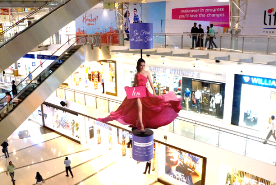 LIVA outshines in mall space with unique innovation