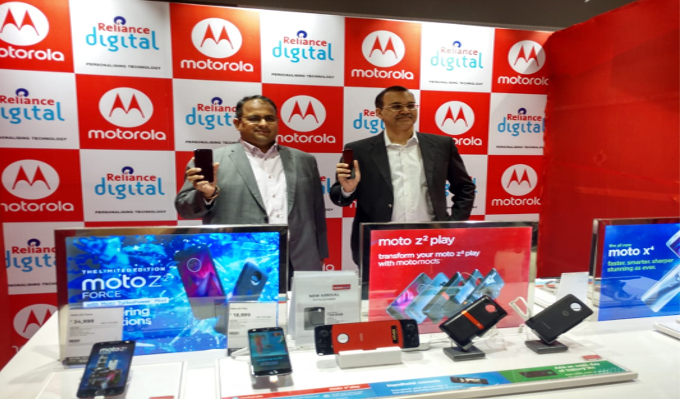 Reliance Retail Limited partners with Motorola to launch Moto Hubs