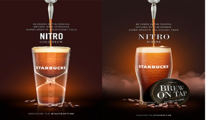 Starbucks Debuts Nitro Cold Brew In India Indiaretailing Com