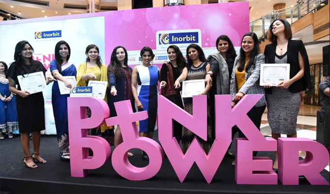 Inorbit's Pink Power 2018 culminates with the empowerment of 10 women entrepreneurs