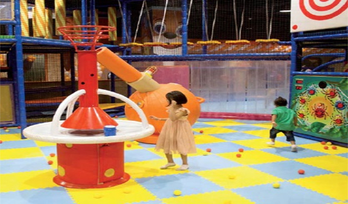 Playbox: Entertaining and engaging with its premium quality play area