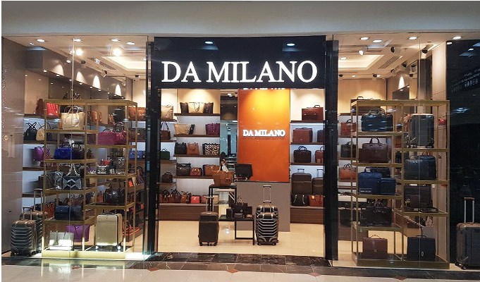 Transit Retail maximum contributor to overall revenue of Da Milano