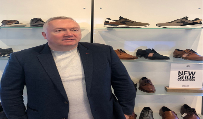 Bugatti Shoes walks in to Iconic