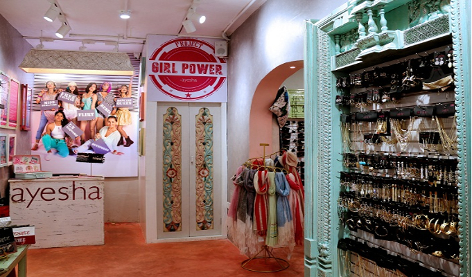 Pondicherry opens its door to ayesha flagship store