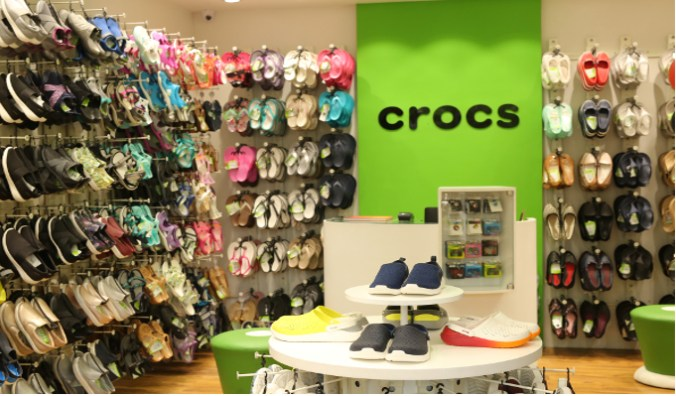 598e79585 Crocs opens its 100th store in India at VR Mall Chennai ...