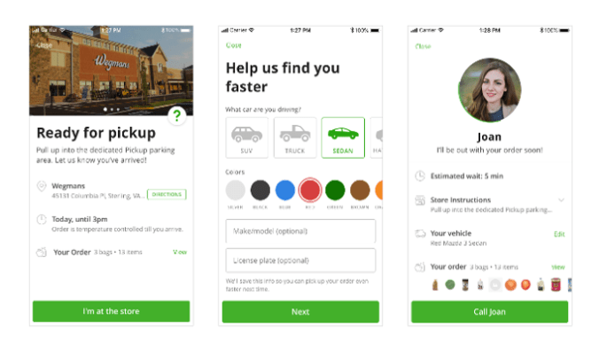 Instacart unveils national expansion of new 'Instacart Pickup