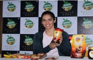Rasna announces Saina Nehwal as the brand ambassador for Rasna Native Haat Honey and Honey Vita