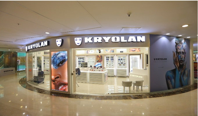 International make-up brand Kryolan launches flagship store in Ambience Mall