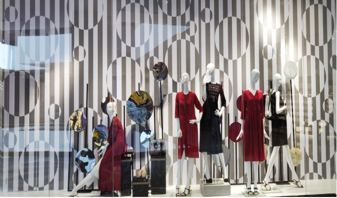 Project Eve chooses an abstract theme for their SS window