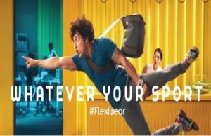 Sporto launches new TV campaign titled 'Flexiwear'