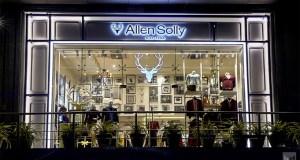 Allen Solly struts into a clean modern retail design concept