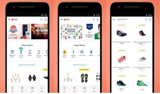Paytm Mall expects to generate Rs 500 cr sales for offline partners