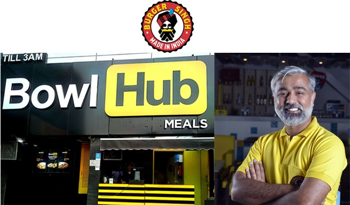 Burger Singh's parent company launches Bowl Hub!