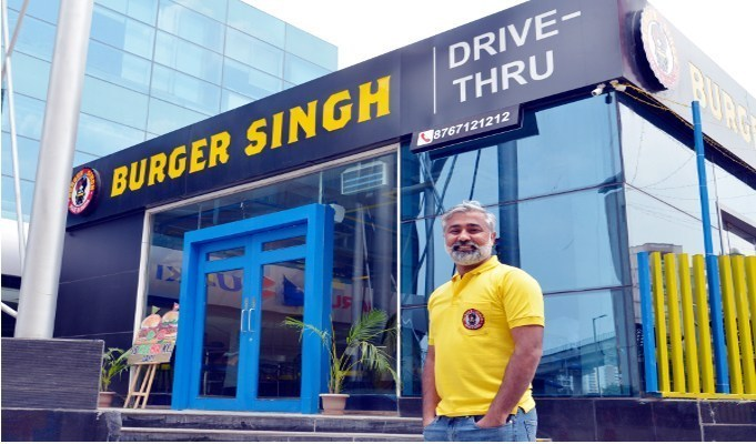 Burger Singh to open 66 franchise outlets in the next 2 years
