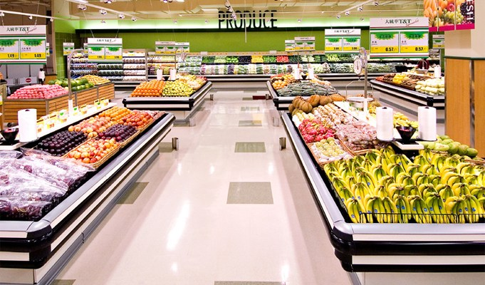 How has the lockdown affected food retail supply chain