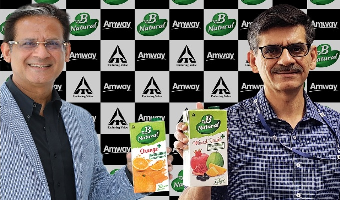 ITC's B Natural and Amway India collaborate to launch immunity offering in fruit beverages