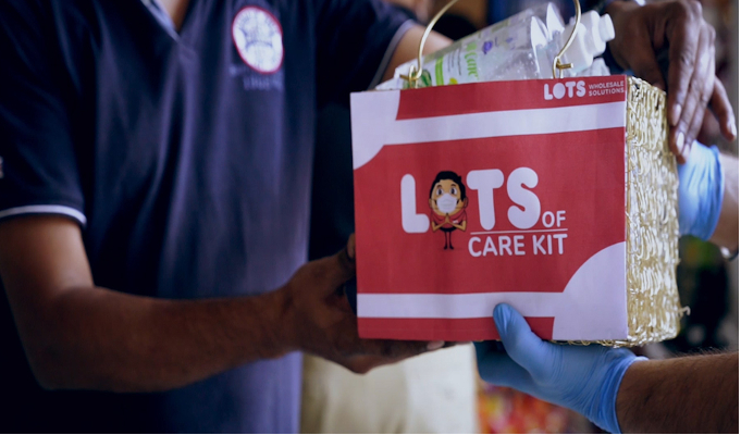 LOTS supports kiranas, distributes 'LOTS of Care Kits' to ensure safety at shops