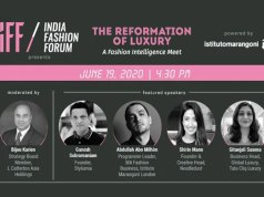 IFF presents 'The Reformation of Luxury: A Fashion Intelligence Meet' - powered by Istituto Marangoni