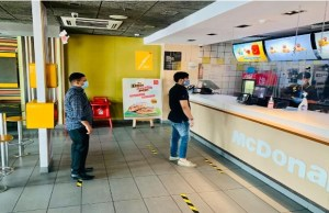 McDonald's resumes dine-in facility in 50 outlets of north, east regions
