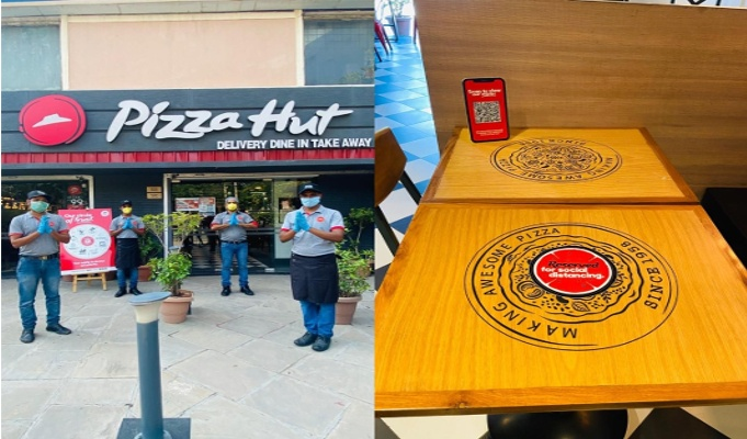 Pizza Hut to start contactless dine-in in India
