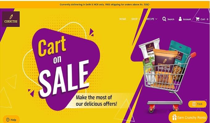 Cornitos launches e-commerce website