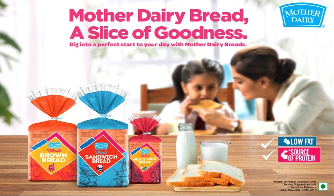Mother Dairy introduces breads