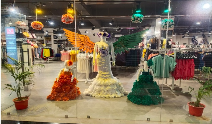 Window Display: V-Mart's Eagle soars over the pandemic storm