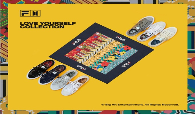 FILA to launch FILA X BTS 'Love Yourself' collection in India