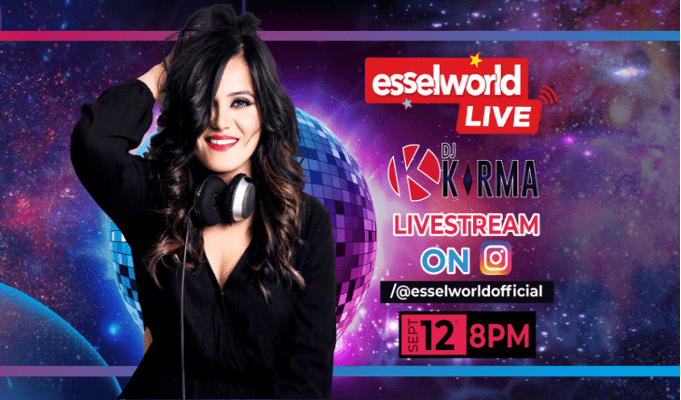 Groove with DJ Karma as she performs live on EsselWorld LIVE on Instagram!