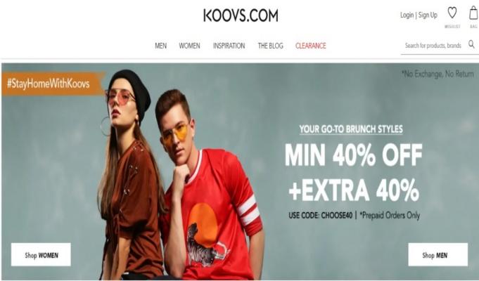 Koovs.com pips Flipkart, Amazon in customer experience in India