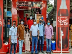 HCCB unveils a beverage only outlet at the KSR Bengaluru Railway Station