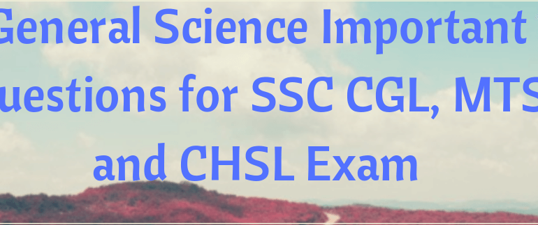 General Science Important GK Questions