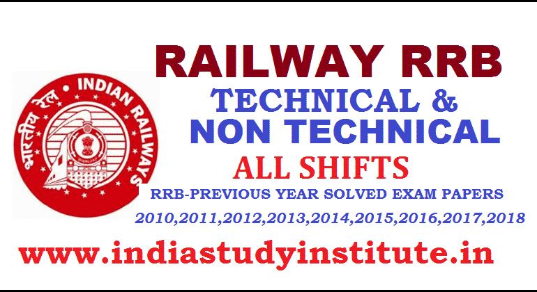 RRB Indian Railway GK Questions 281-320 NTPC