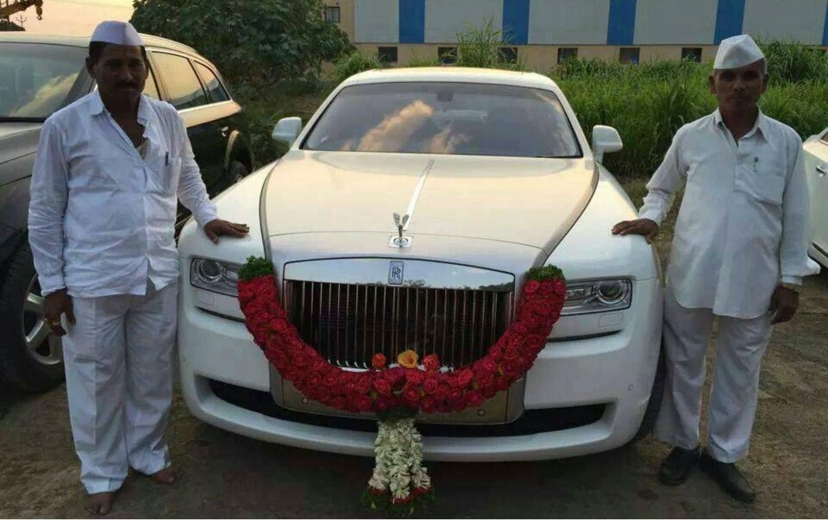 Who Owns Audi >> Meet Indian Farmer Owns Fleet Cars Including Rolls