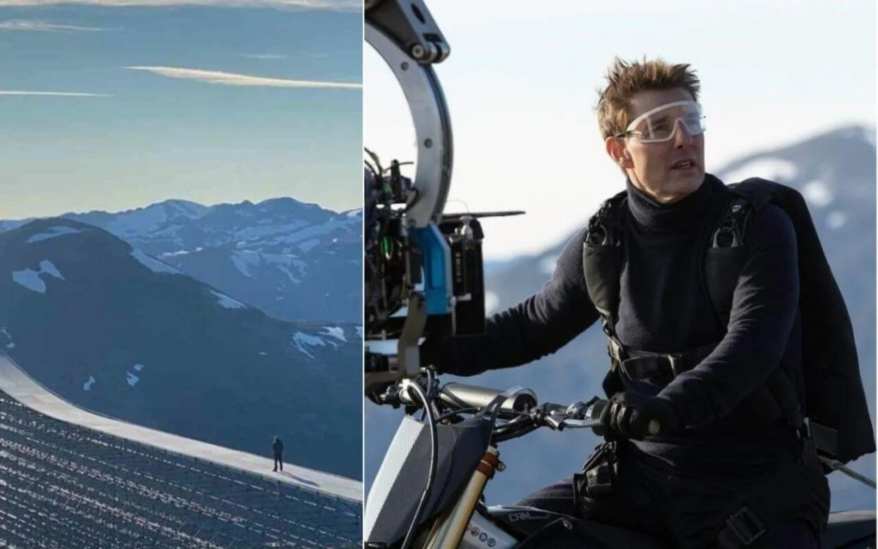 Tom Cruise Mission Impossible 7 Stunt