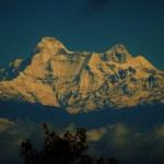 face of Nanda Devi