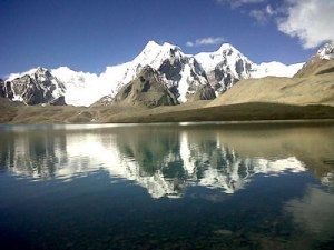 gurudongmar-in-lake