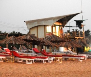 Goa beach lifeguard