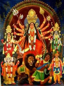 Durga Devi at Navaratri
