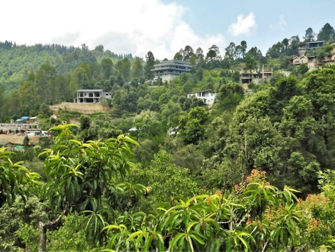 vulnerable Himalayan eco-system sports gated community at edge of Mukteshwar forest