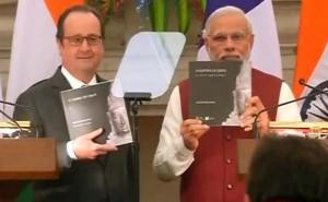 Modi-Hollande media address
