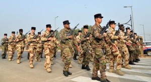 french troops Republic Day parade