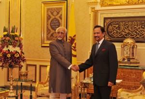 Ansari Brunei visit