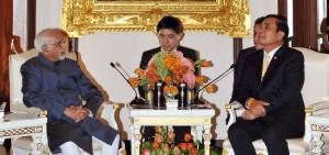 Ansari meets Thailand PM