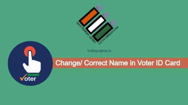online voter id correction